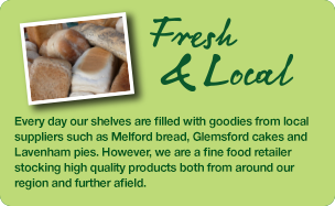 Fresh Products available at Willow Tree Farm Shop